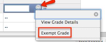 bb-exempt grade