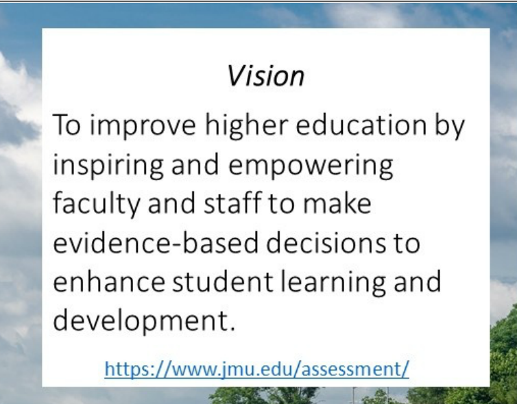 vision statement for JMU